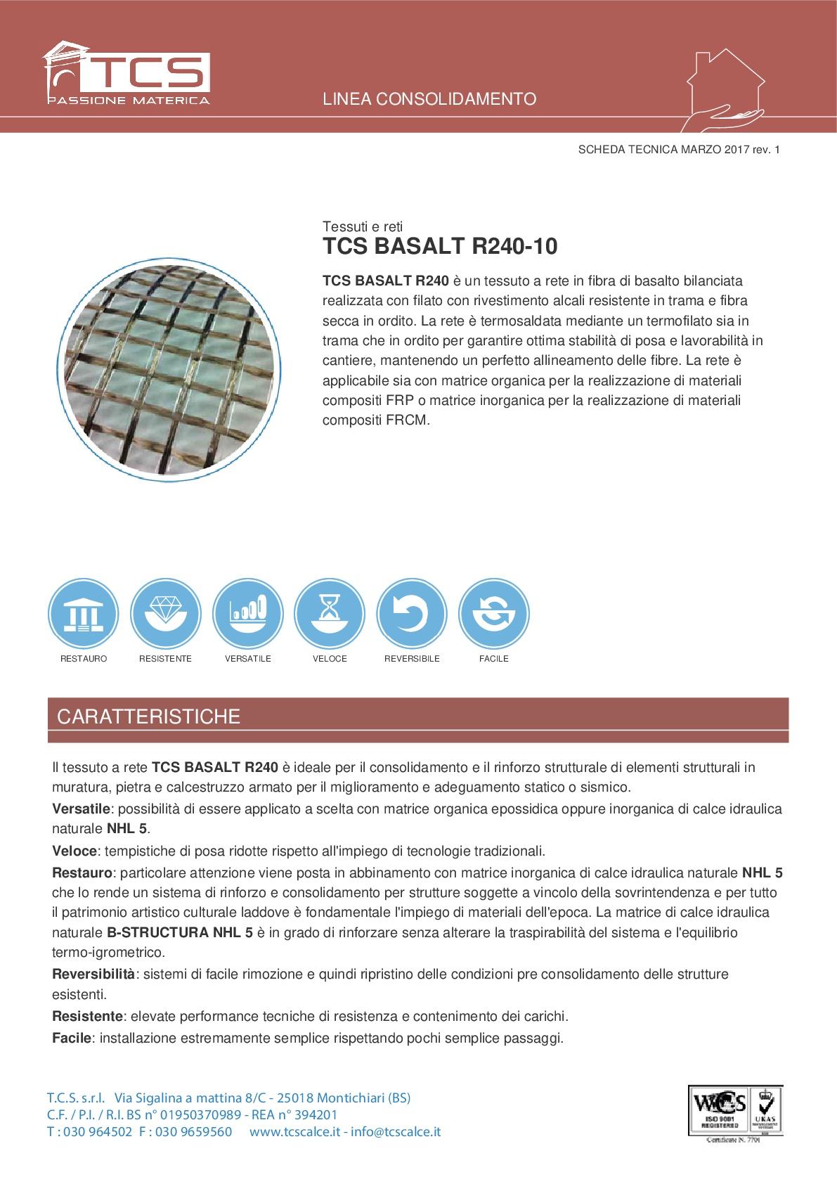 TCS BASALT R240-10