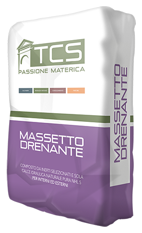 Massetto drenante biocompatibile